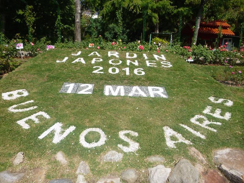 Jardin Japones Calendar Buenos Aires