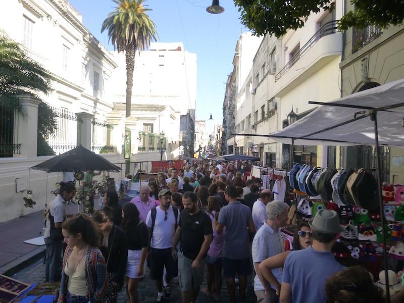 Calle Defensa San Telmo Buenos Aires