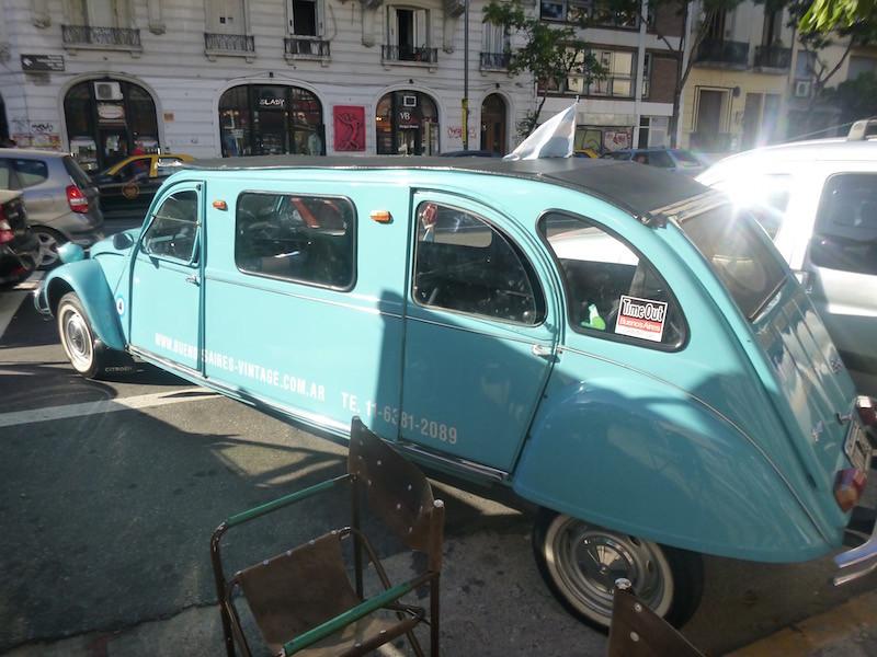 Citroen 2CV Limo Buenos Aires