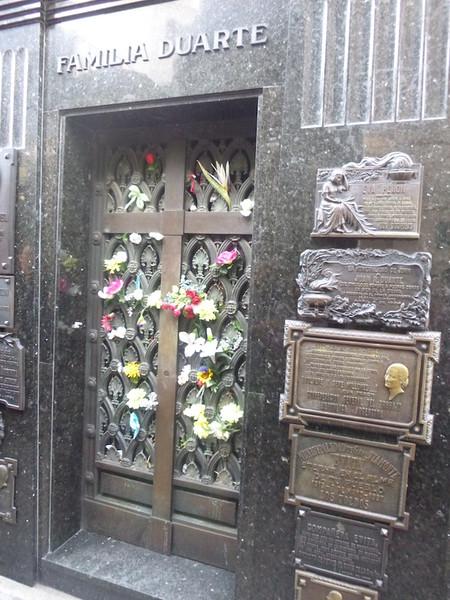 Evita cementerio del Recoleta